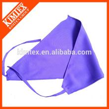 Logotipo de impresión personalizado triángulo de bandana de perro