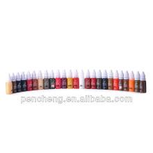 Vente en gros du maquillage permanent professionnel pigment de tatouage 1/2 oz