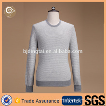 High quality crew neck mongolian cashmere sweater