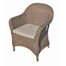 Jardim ao ar livre do Rattan vime mobiliário cadeira de braço do pátio