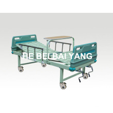 a-89 Movable Double-Function Manual Hospital Bed
