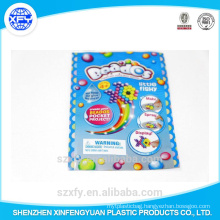 Printed Plastic Bag with Easy Open Mouth