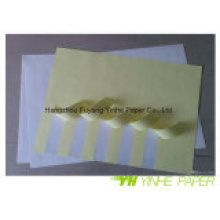 Glossy/Semi-Glossy/Matt Self Adhesive Paper with Yellow Liner