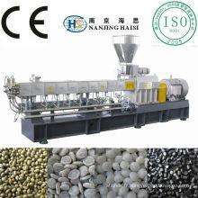 HS haute qualité & compétitive prix SHJ-65 a bivis parallèle co-rotation plastique granule faisant la machine
