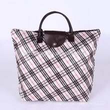 Wiederverwendbarer Druck-Polyester-fördernde EinkaufsTaschen-faltbare Tasche für Supermarkt, Lebensmittelgeschäft und Werbung