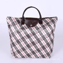 Reusable Printing Polyester Promotional Shopping Tote Foldable Bag For Supermarket, Grocery And Advertising