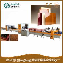 Máquina de laminação de painel de alto brilho / máquina de revestimento de cola PUR