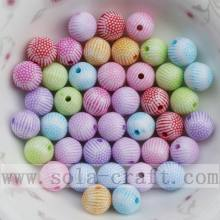 OEM China High quality for Round Acrylic Beads Fashion round Washed jewelry acrylic accessory bead export to Guinea Factories