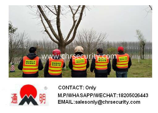 Simple reflective waistcoat safety need not worry