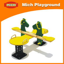 Wooden Horse Playground Seat Seesaw (2308C)
