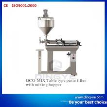 Столовый тип Пастообразный наполнитель с перемешивающим бункером (Gcg-Mix)