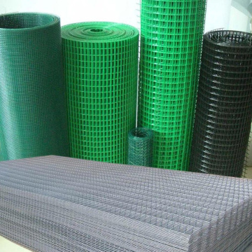 Different Type PVC Coated Welded Mesh Panels