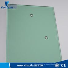 Боросиликатное стекло / закаленное изогнутое ограждение Стекло / безопасное ламинированное строительное стекло