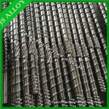 BIMETALLIC SCREW FOR DIFFERENT PLASTIC MACHINE