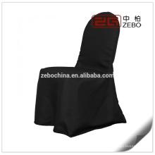 Hot vendendo brilhante cetim tecido barato cadeira cobre para cadeiras dobráveis