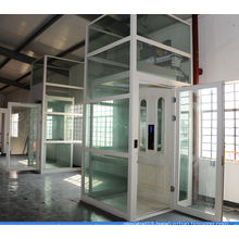 luxury panoramic glass indoor small machine room elevator,villa elevator,elevator for home,cheap price from China manufacturer
