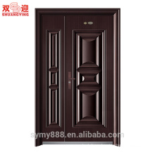 One and half door leaf steel door