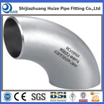 SS Weldable pipe elbows