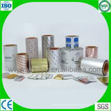 Blister papel de aluminio
