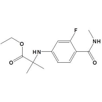 Éster etílico de N- [3 - fluoro - 4- [(metilamino) carbonil] fenil] - 2 - metilalanina Nº CAS 1258638 - 92 - 4