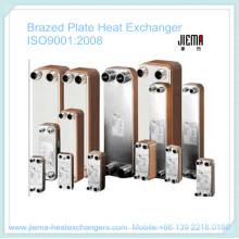 Efficacité de transfert de chaleur élevée de l'échangeur de chaleur à plaques brasées