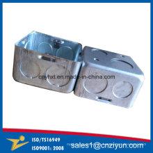 Caja de interruptor eléctrico de acero galvanizado
