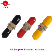 Adaptador estándar de fibra óptica de metal St Simplex Single Mode multimodo
