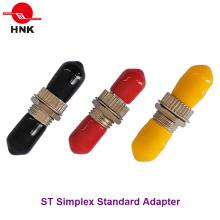 St Simplex одномодовый многомодовый стандартный металлический оптоволоконный адаптер