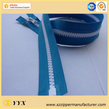 Produksi Garment VSO Plastic Open End Zipper