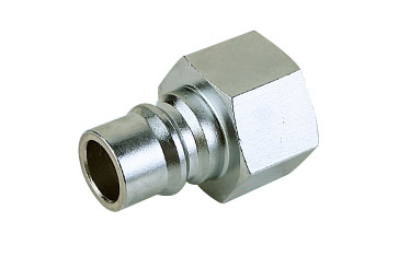 Mass Flow Female Thread Quick Coupler Plug
