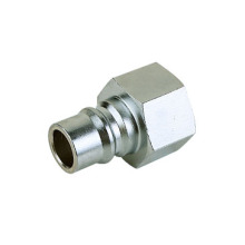 Mass flow female thread quick coupler 1 inch plug