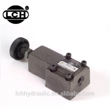 hydraulic valve et-04 220v for dumper DG series remote control relief valves