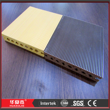 Colorful Hollow WPC Composite Decking Plates