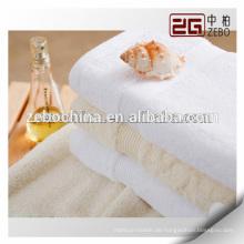 Hochwertige Großhandel Plain Woven 32s Billig gestickte Handtücher