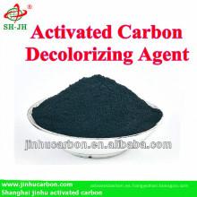 325mesh de carbón activado de madera para la purificación de alcohol