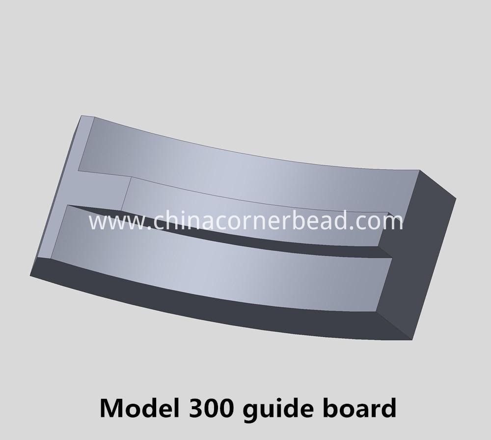 Model 300 guide board