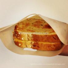 Como se ve en la TV producto-PTFE reutilizable bolsa de tostadora, juego de dos, Sandwich y bolsa de pan