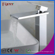 Fyeer Manufacturer Hot Sale Bathroom Waterfall Basin Faucet