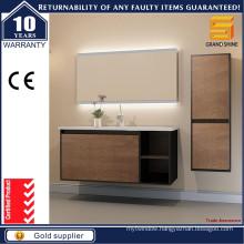 Modern European Style Free Standing MDF Bathroom Vanity