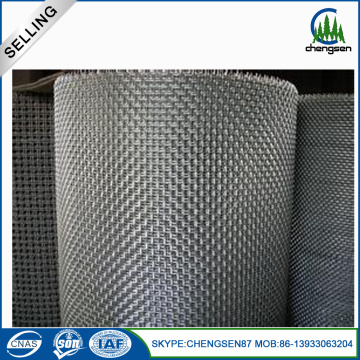 Hot mencelupkan Galvanized Square Crimped Mesh