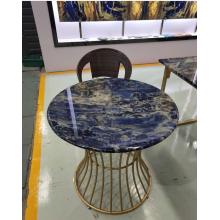 Mesa semi preciosa de sodalita azul
