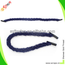 PP handle rope with plastic black tip
