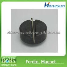 disque d'aimants ferrite isotropes grade 3