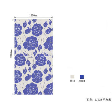 Mosaic Tile Pictures Flowers Pattern Classical Mosaic Mural White and Black Glass Mosaic