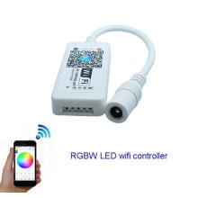 Regulador de Wifi LED RGBW DC12V mini controlador para 5050 RGBW LED módulo de tira de luz