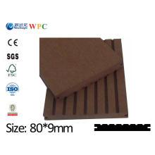 Placa do PE WPC da alta qualidade com o CE ISO Fsc WPC Cladding Placa do WPC Placa plástica do vinil do composto de madeira Lhma009A