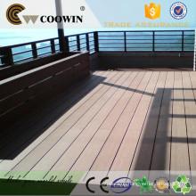 china supplier fiberglass wpc pvc boat pavilion decoration terrace composite decking floor board