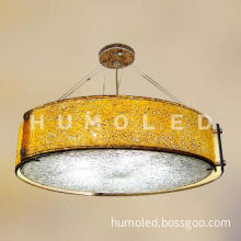decorative indoor glass pendant light with Bulb led