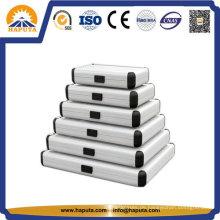 Unterschiedlicher Größe professionelle Aluminium runden Fall HEC-0003