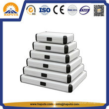 Taille différente professionnel aluminium rond cas HEC-0003